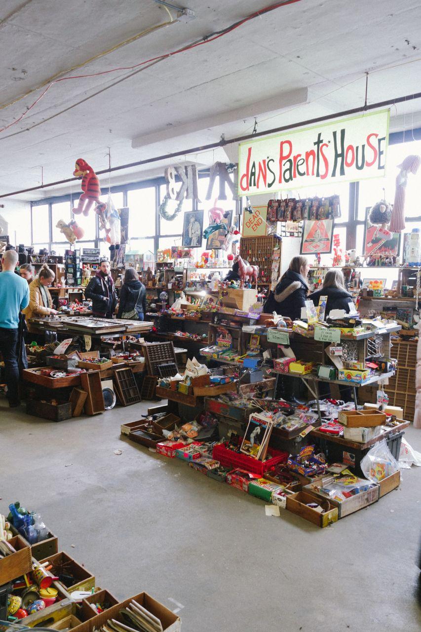 Indoors Food Market Nyc