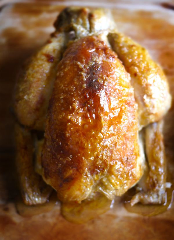 Rock Salt Roast Chicken - The Londoner