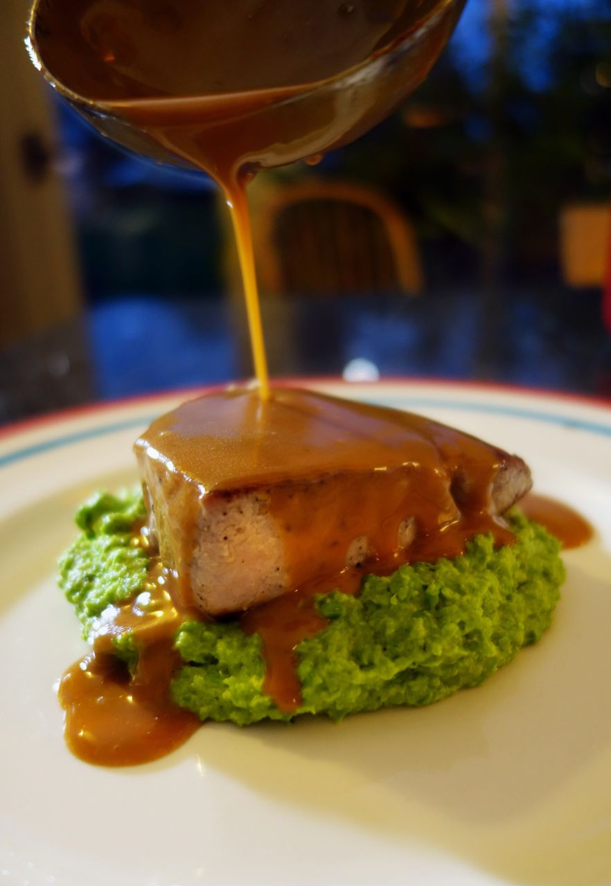 Seared Tuna With A Soy And Wasabi Glaze The Londoner