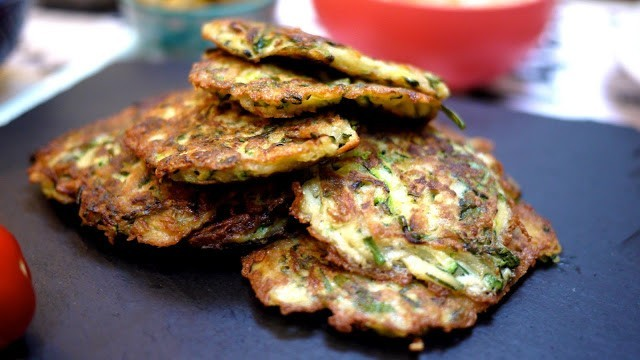 Also known as Zucchini Fritters for all you kids across the pond ...