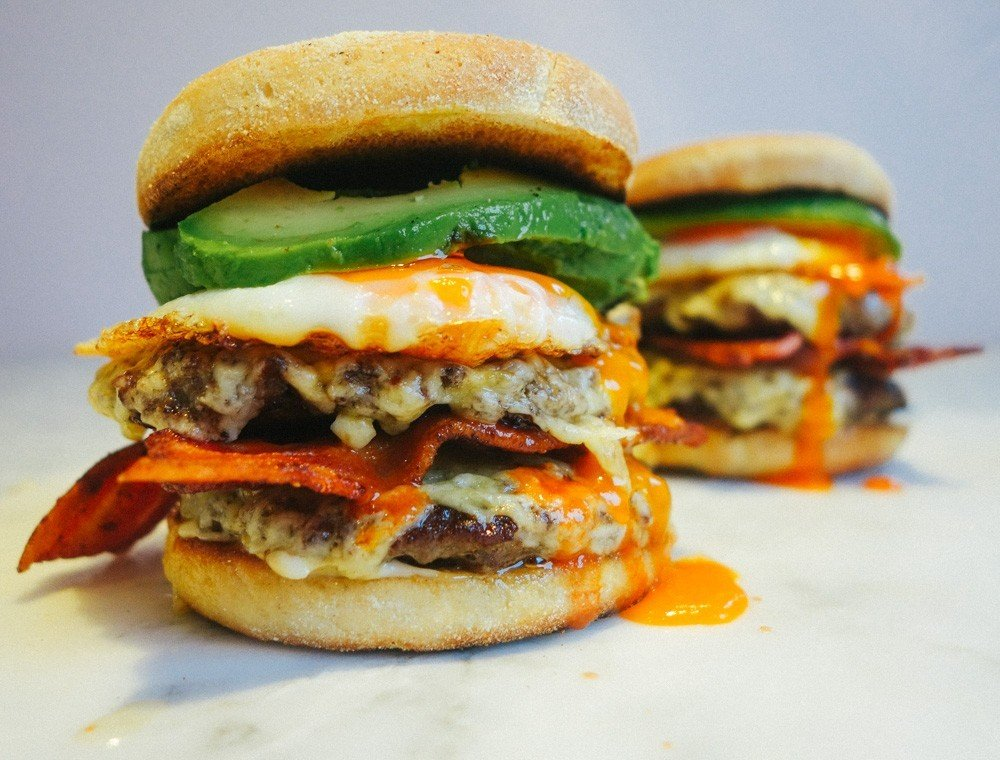 brunch burger recipe-13