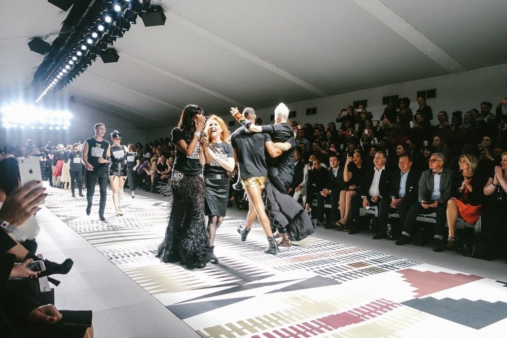 Fashion For Relief Naomi Campbell Show-4