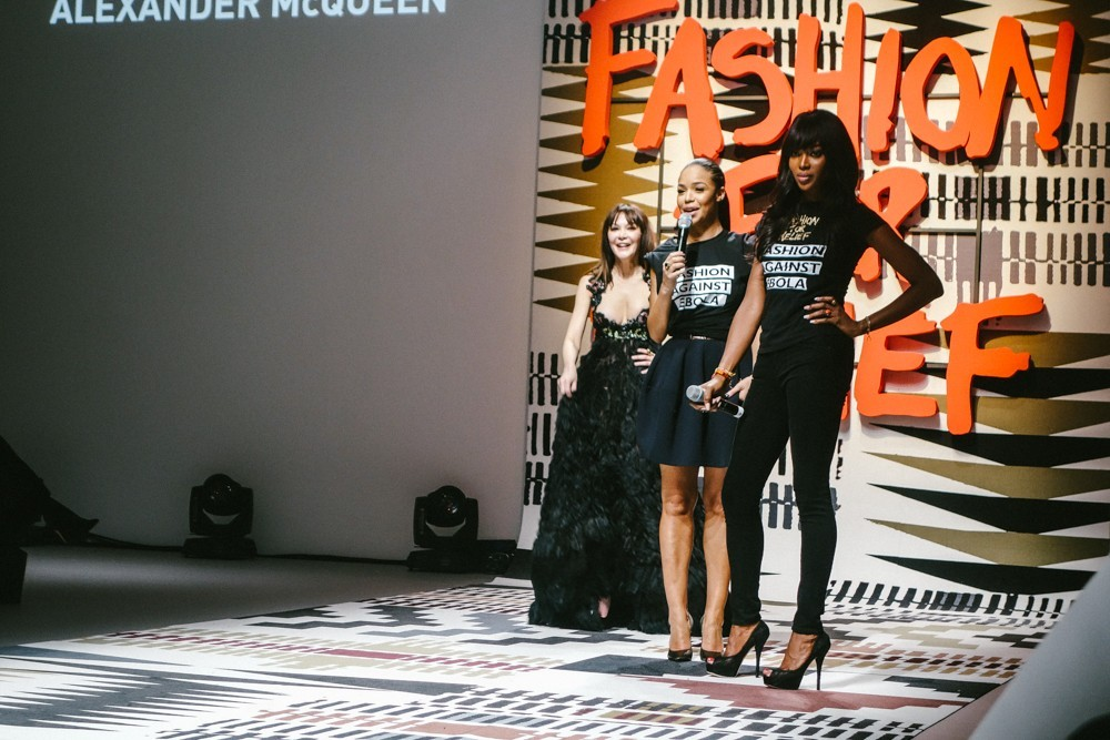 Fashion For Relief Naomi Campbell Show-9