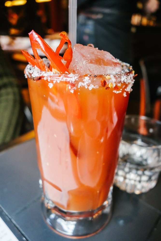 Done FIve Ways - HotBox The Best Bloody Marys In London