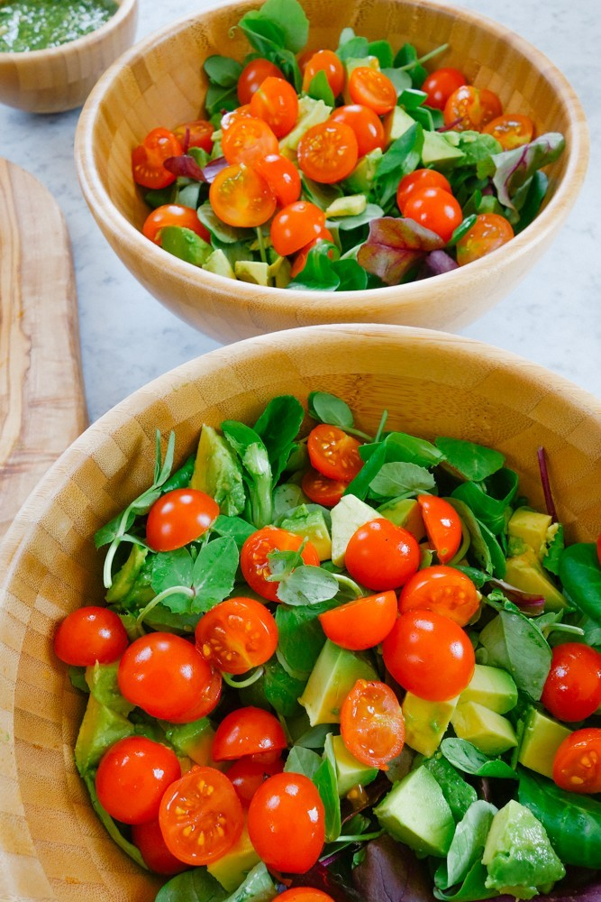 Caprese Salad + Pesto Dressing Recipe-3