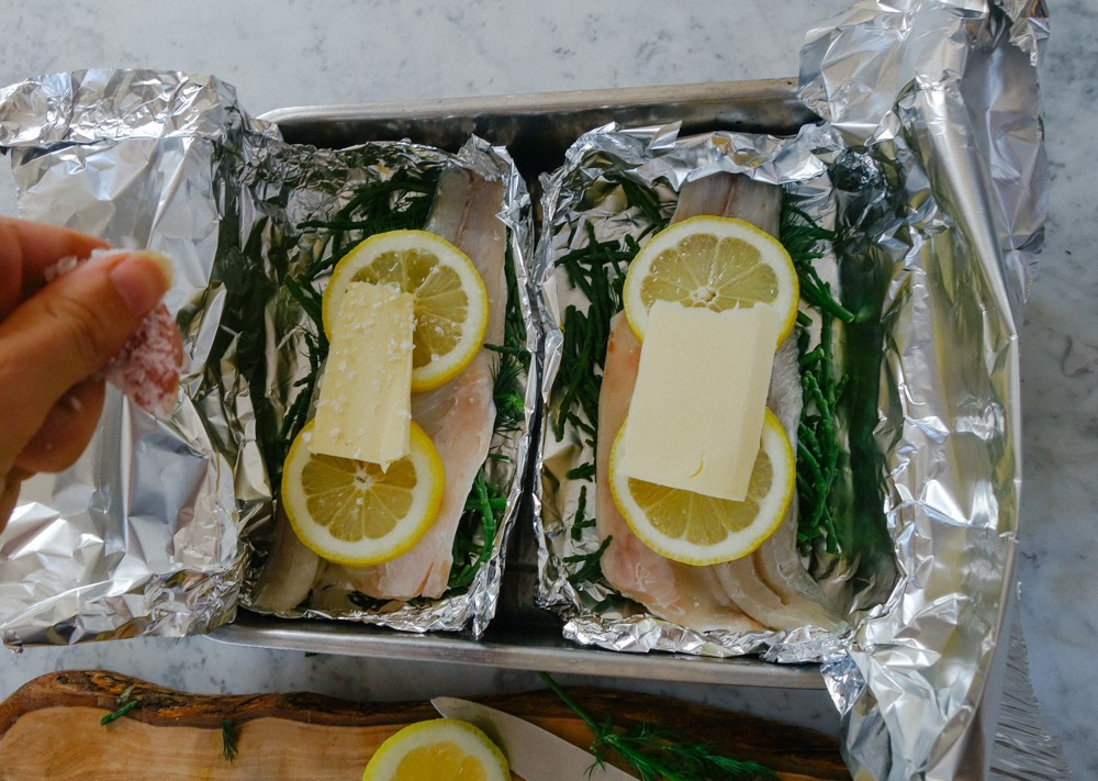 Steamed Fish and Samphire Parcels-10