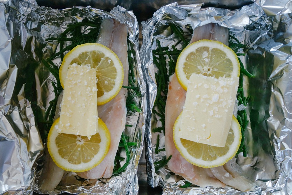 Steamed Fish and Samphire Parcels-11