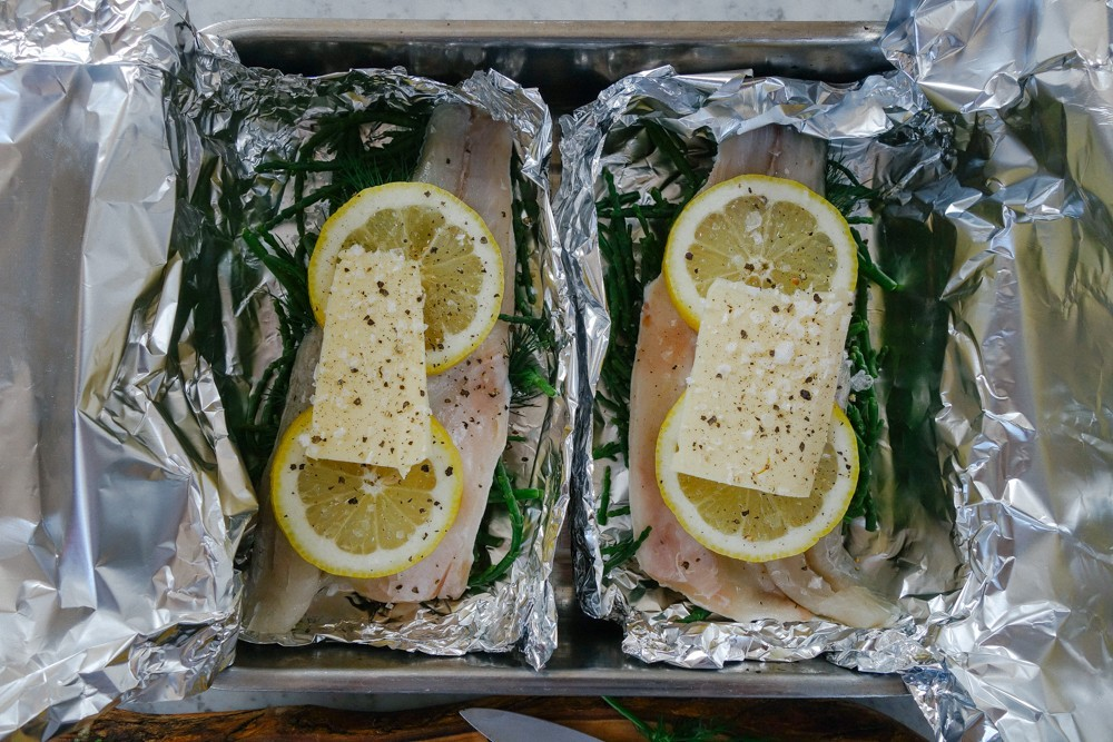 Steamed Fish and Samphire Parcels-12