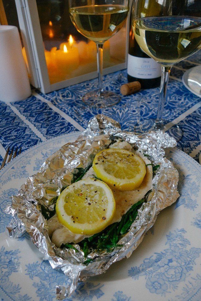 Steamed Fish and Samphire Parcels-18