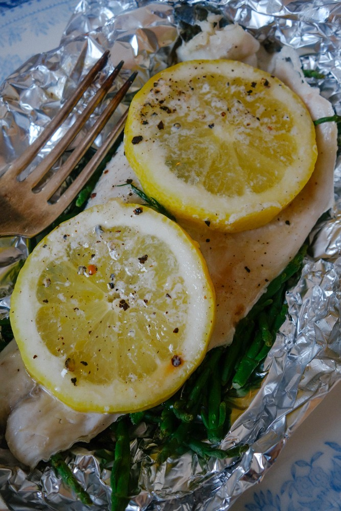 Steamed Fish and Samphire Parcels-20