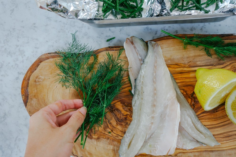 Steamed Fish and Samphire Parcels-4