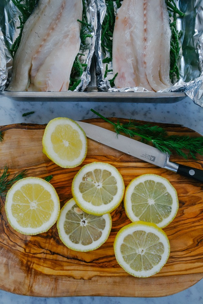 Steamed Fish and Samphire Parcels-7