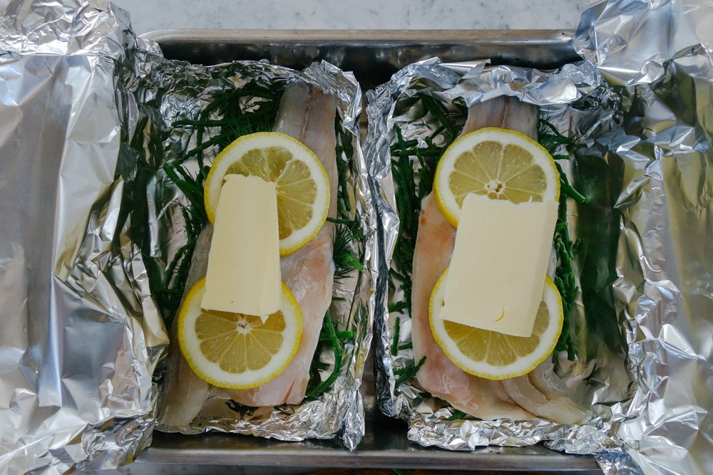Steamed Fish and Samphire Parcels-9