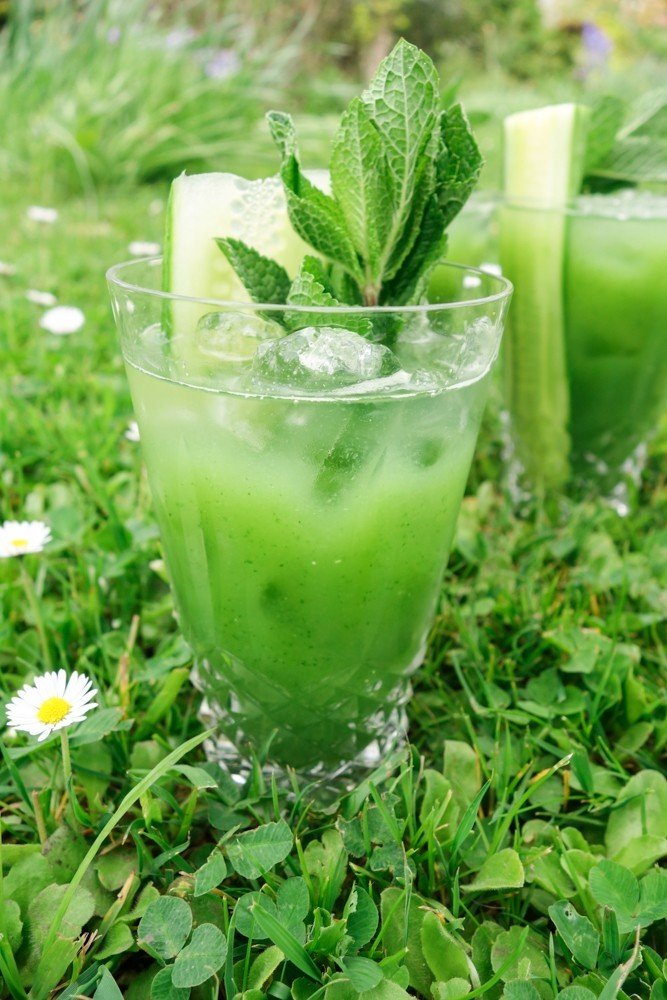 green goddess cocktails-2