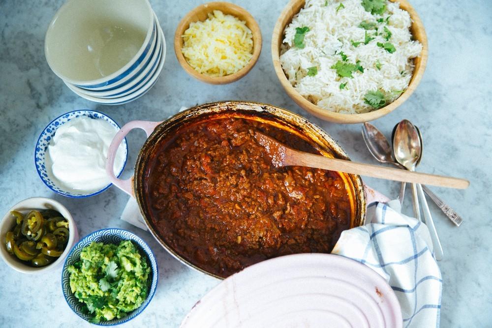 Easy Sunday Chili Recipe-1
