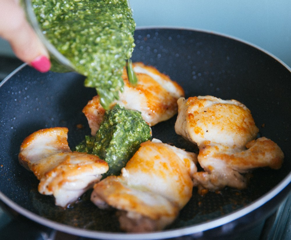 pesto chicken salad-10