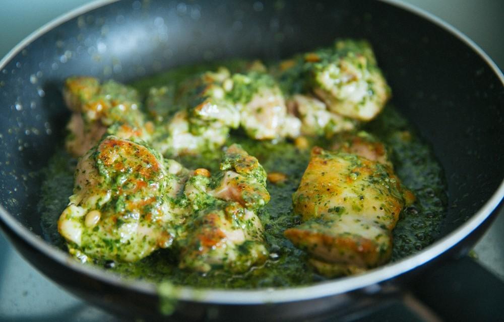 pesto chicken salad-11