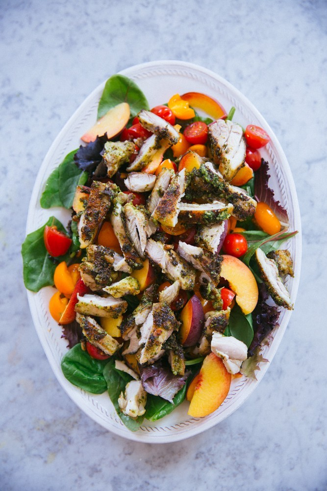 pesto chicken salad-20