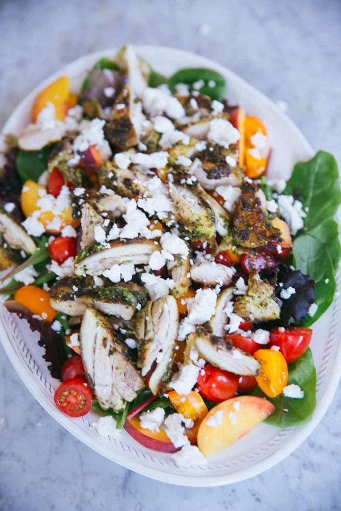 pesto chicken salad-23