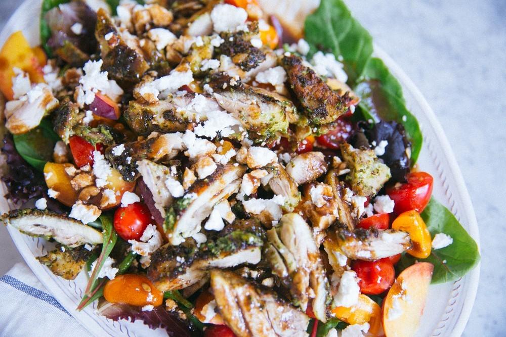 pesto chicken salad-25