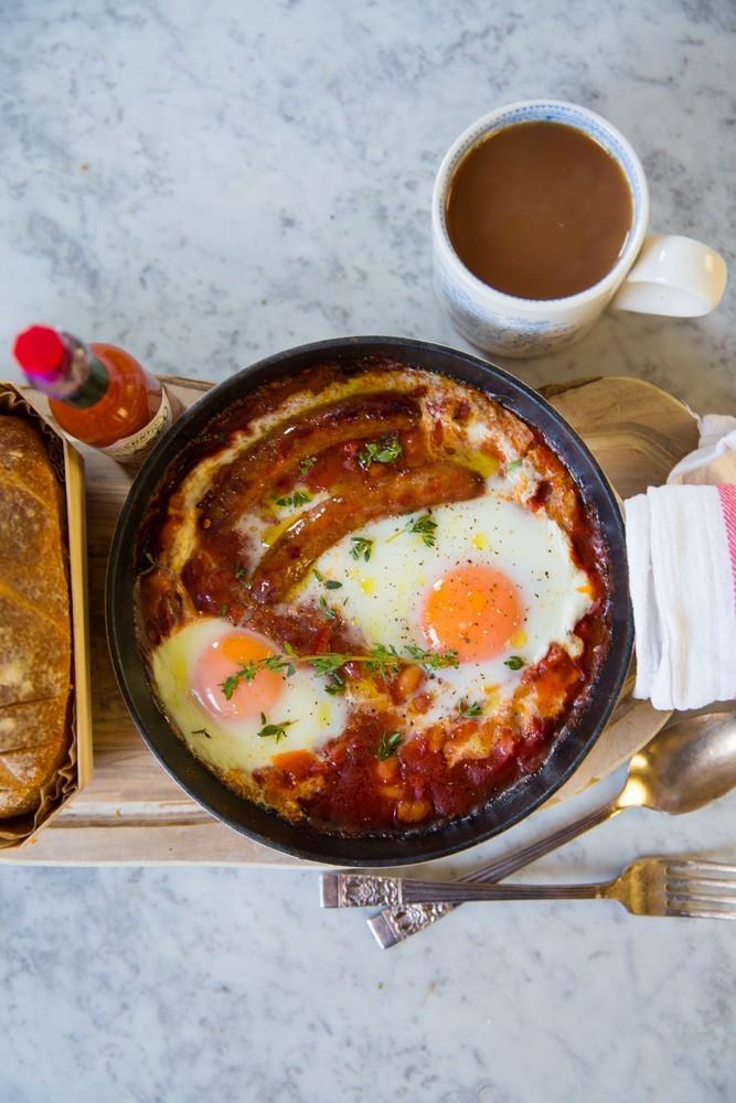 One Pan English Breakfast-11