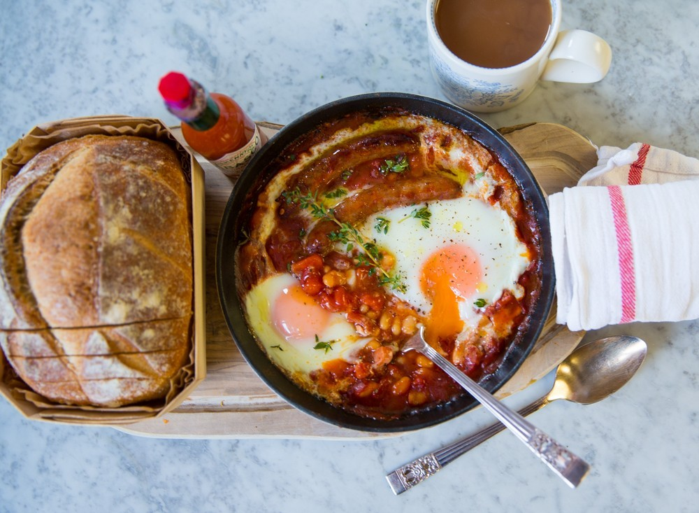 One Pan English Breakfast For Washing Up Dodgers The
