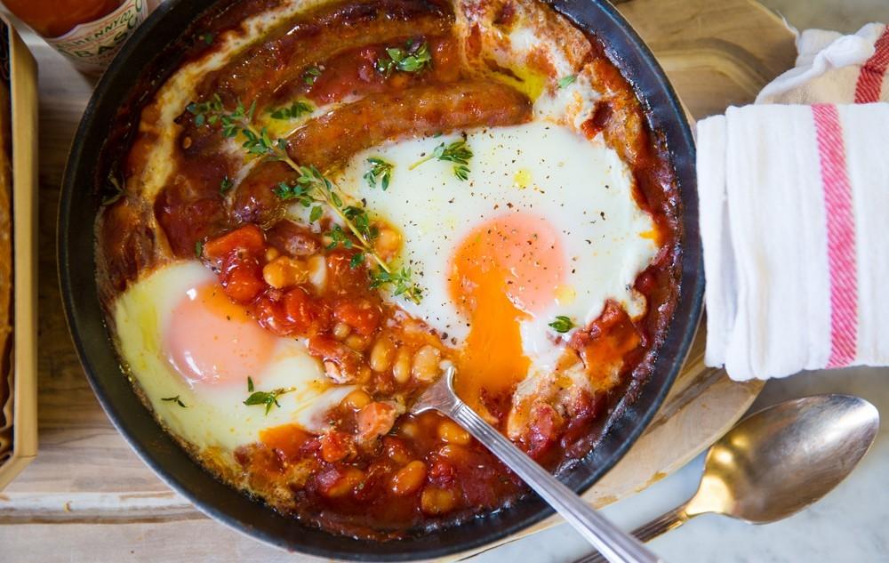 One Pan English Breakfast-13