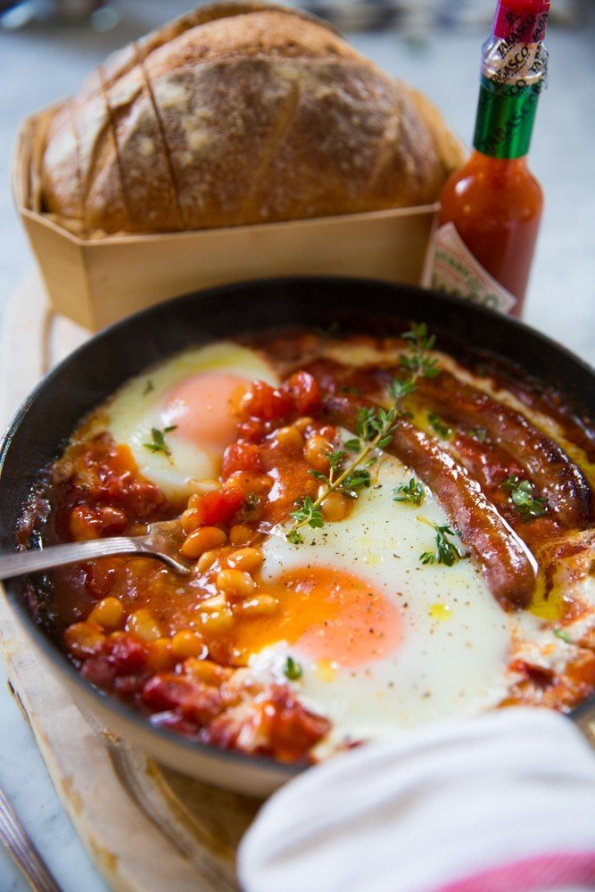 One Pan English Breakfast-2