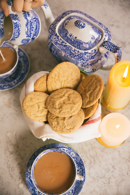 Ginger Pillow Cookies -2