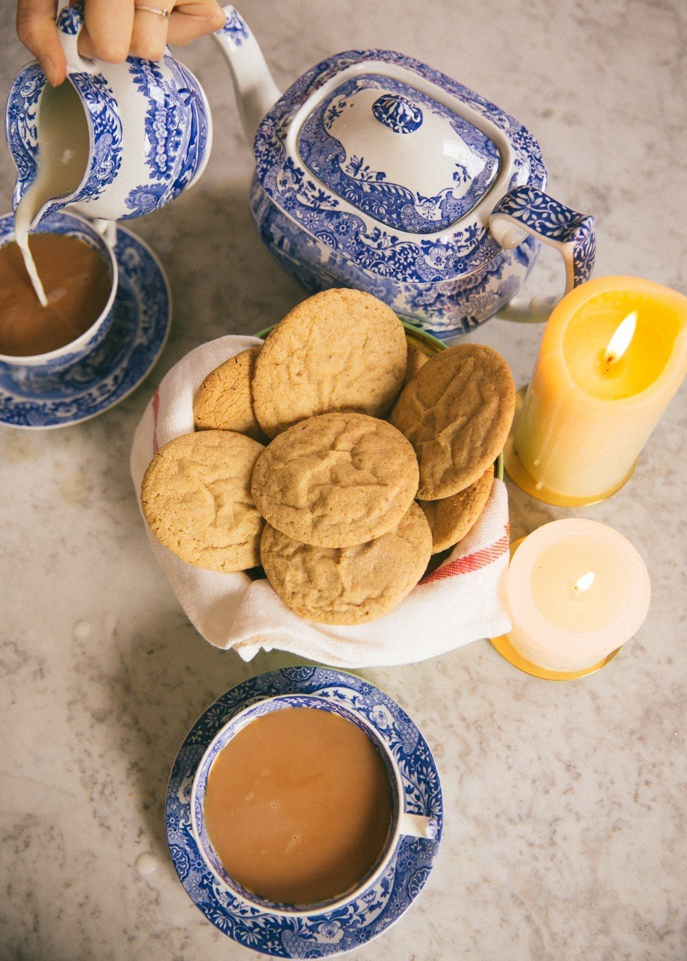 Ginger Pillow Cookies -20
