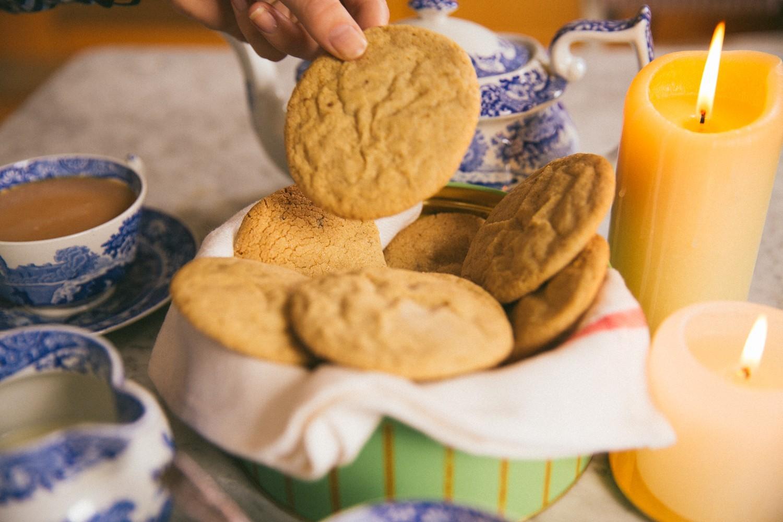 Ginger Pillow Cookies -22