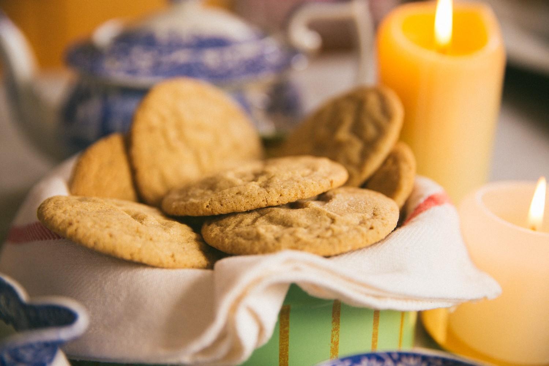 Ginger Pillow Cookies -4