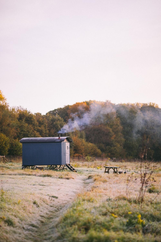 Shepherd Hut Camping - The Wriggly Tin, UK