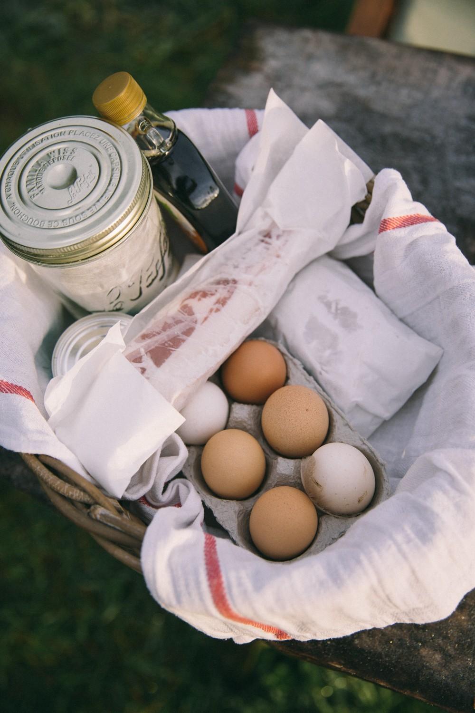 Camp breakfast