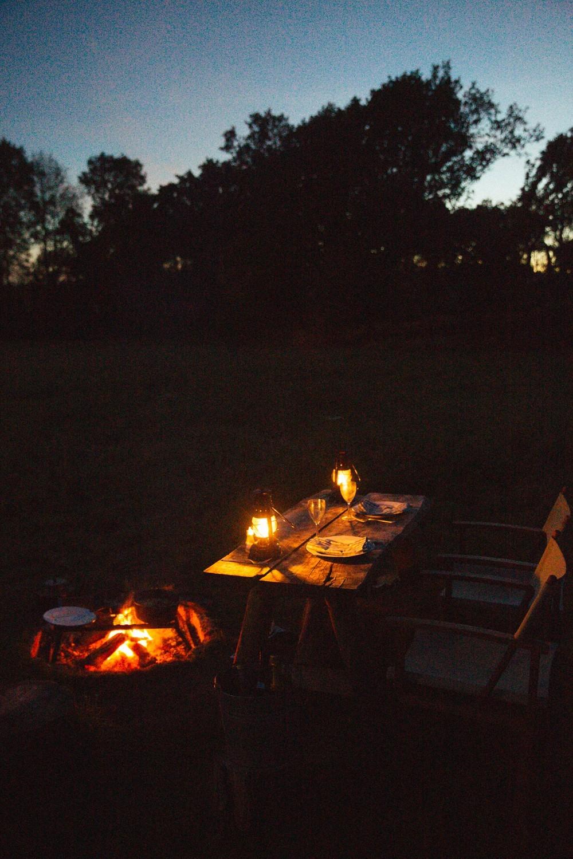 Starlight supper