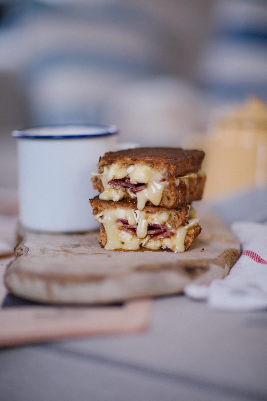 Brie bacon honey melt-1