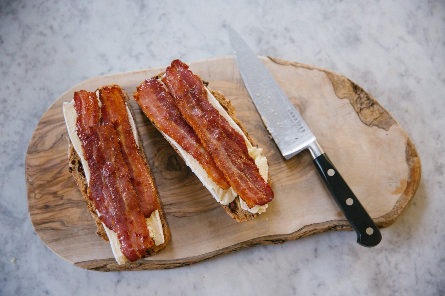 Brie bacon honey melt-4