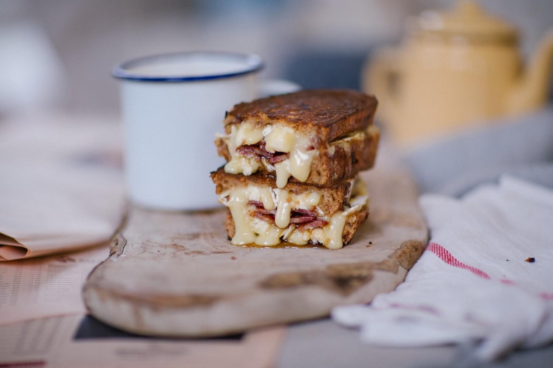 Brie bacon honey melt-8