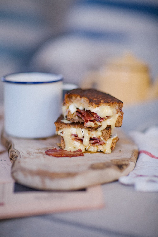 Brie bacon honey melt-9