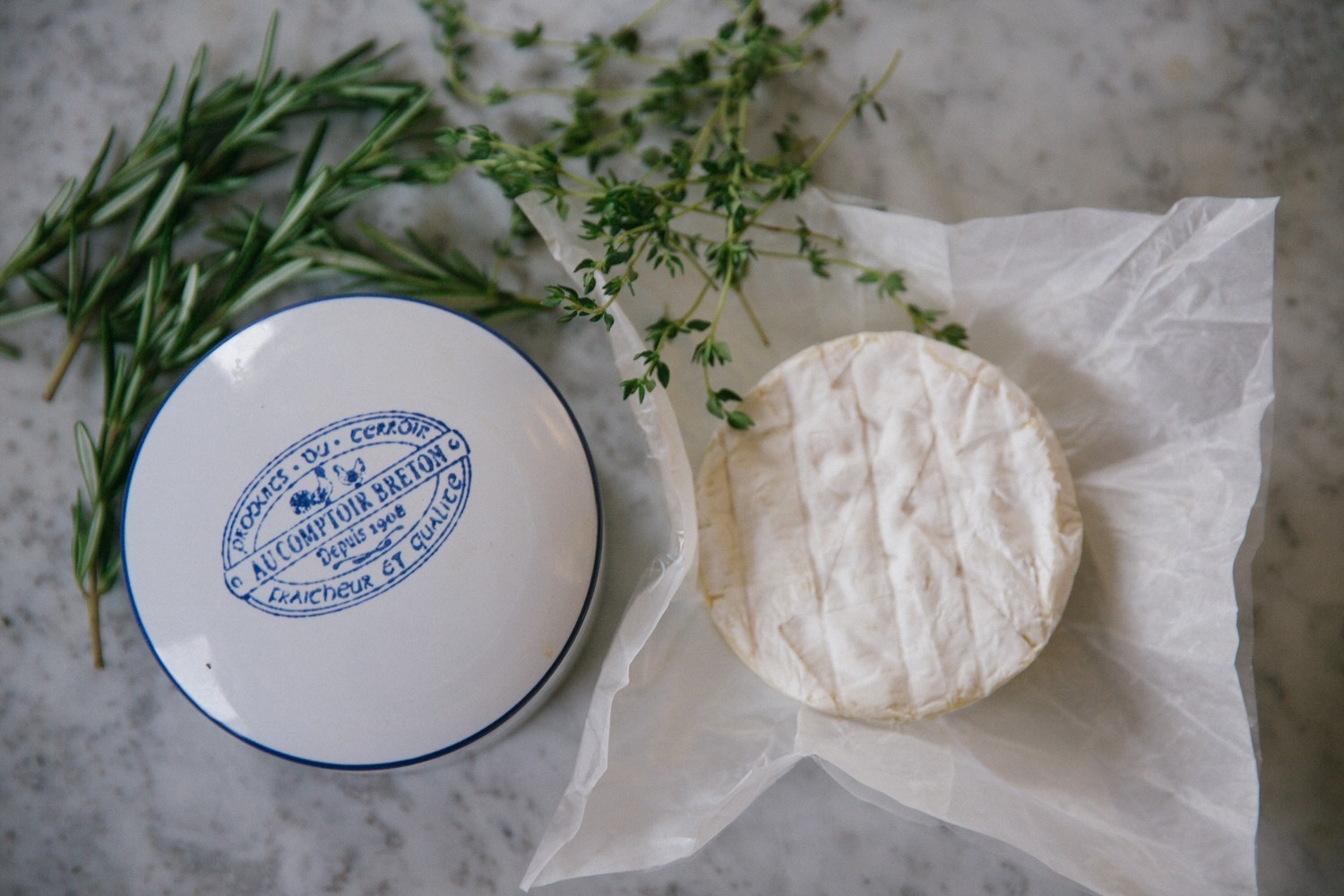 Herb and honey baked camembert-2