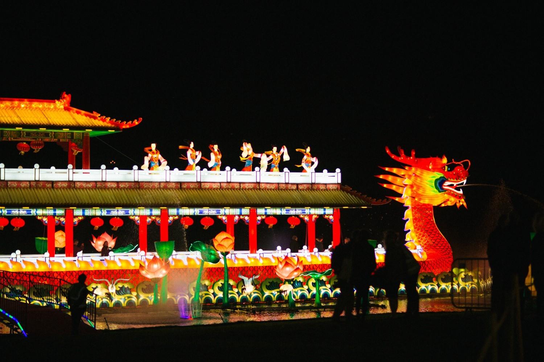 Longleat Festival of Light -45