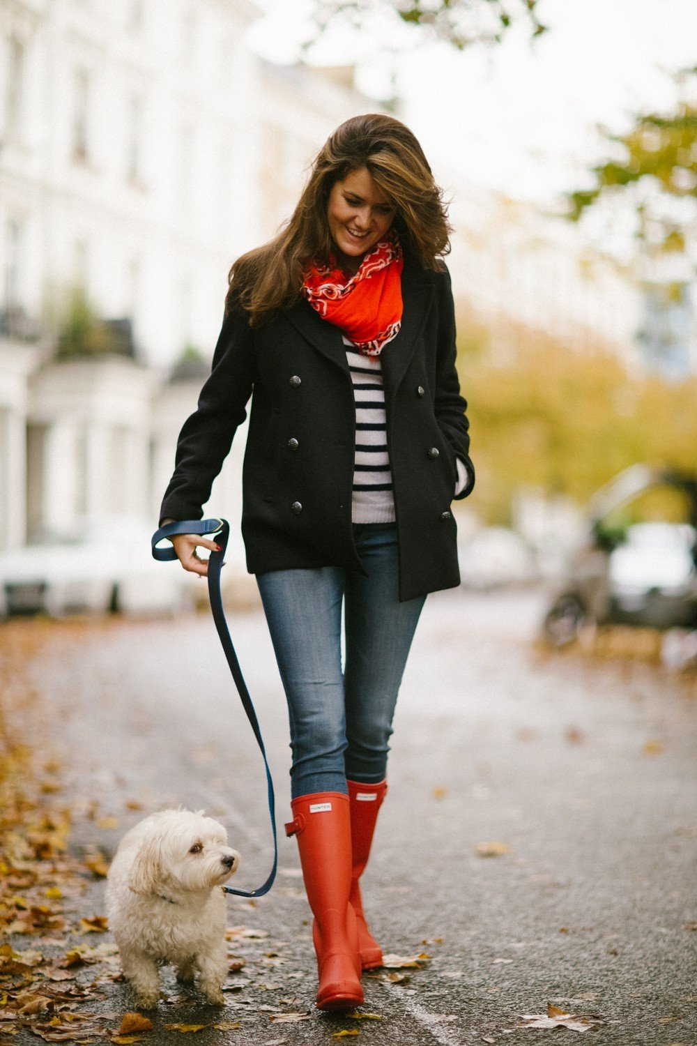 The Londoner u00bb Red Rain Boots