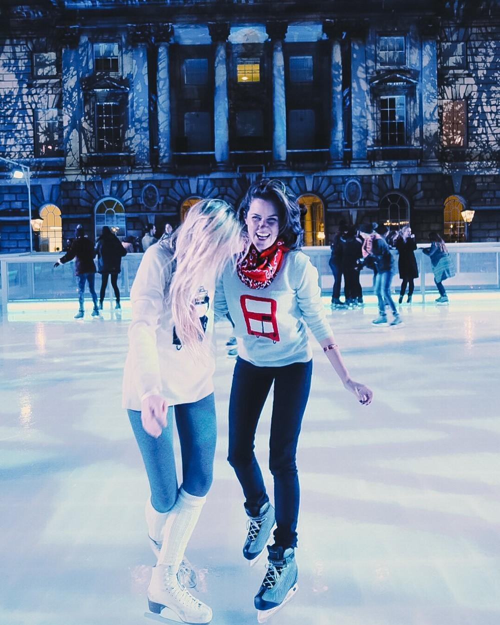Christmas skating!