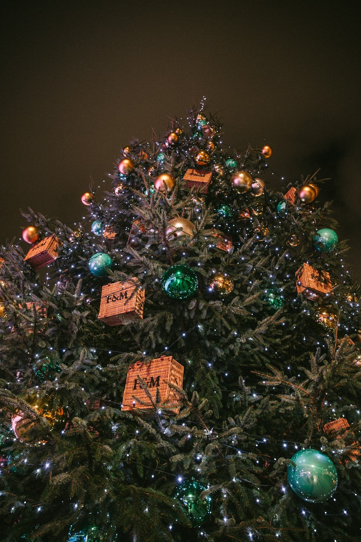 Somerset House christmas tree