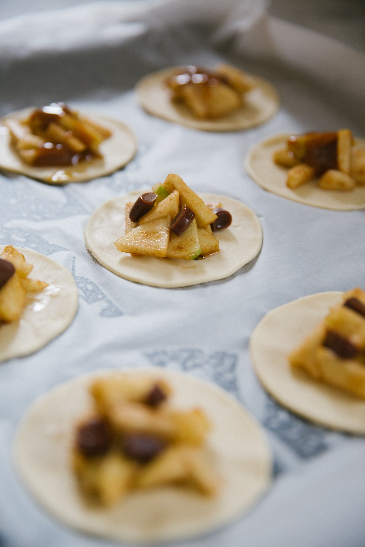 Salted Caramel Apple Pies-13