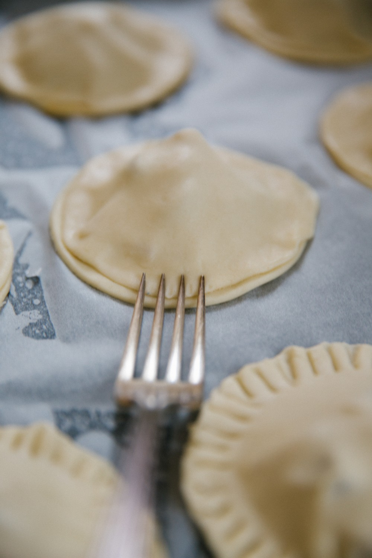 Salted Caramel Apple Pies-17