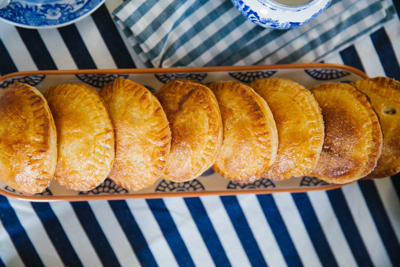 Salted Caramel Apple Pies-21