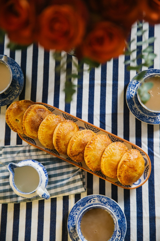 Salted Caramel Apple Pies-23