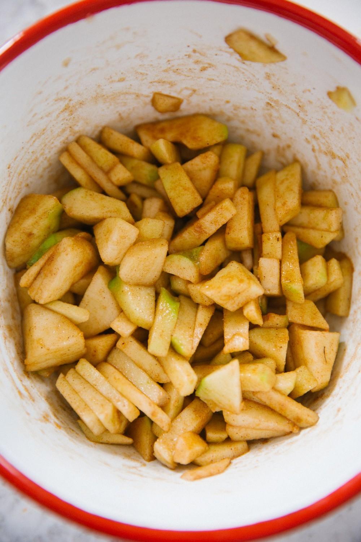 Salted Caramel Apple Pies-8