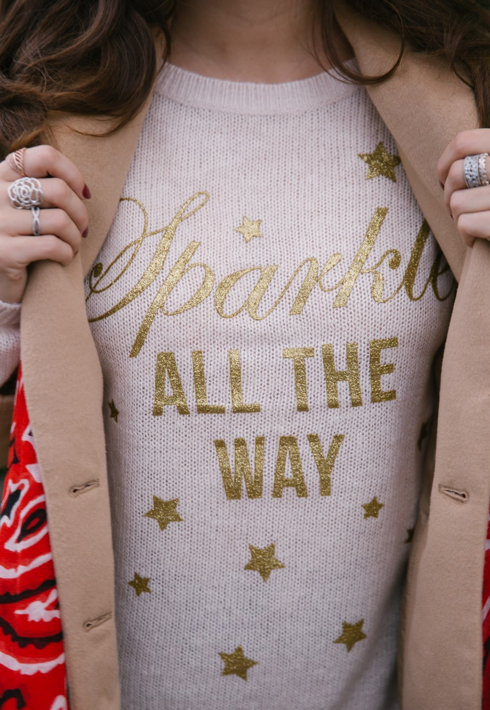 Sparkle Cosy Christmas Jumper